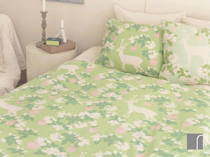 Majvillan-Apple-Garden-Green-Duvet