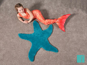 Mermaid Costume and Starfish Rug