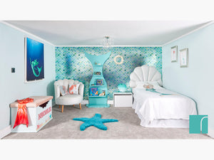 Mermazing Mermaid Bedroom