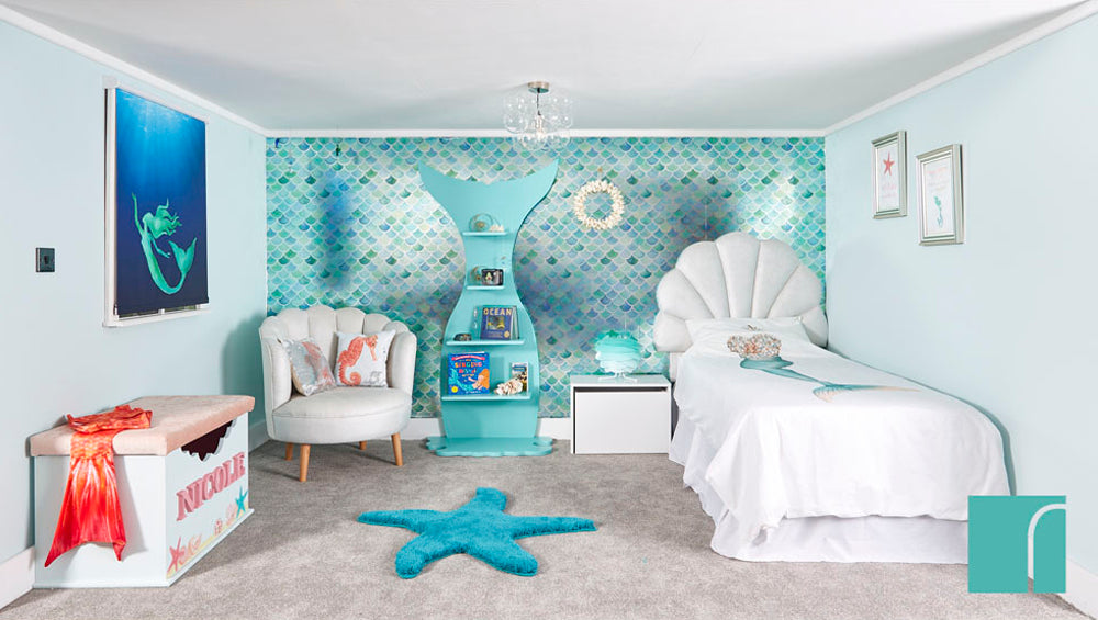 Complete Mermazing Mermaid Bedroom