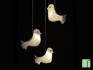 Bird Mobile Light