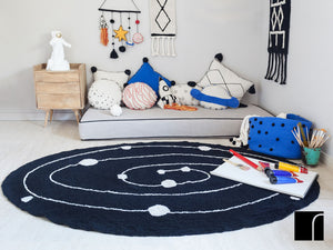 Washable Planet Cushion