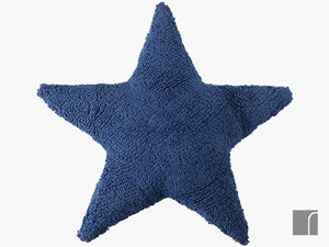 Navy-Star-Cushion