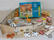 Noahs Ark In A Tin Open