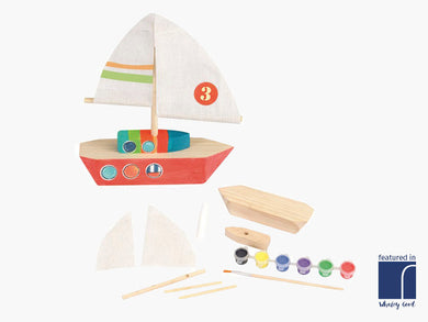 Paint Your Own Sailing Boat