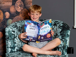 Reading Personalised Book About Space