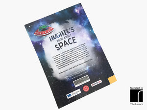 Personalised Book About Space Back