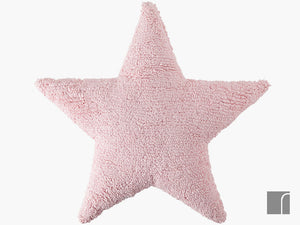 Pink-Star-Cushion