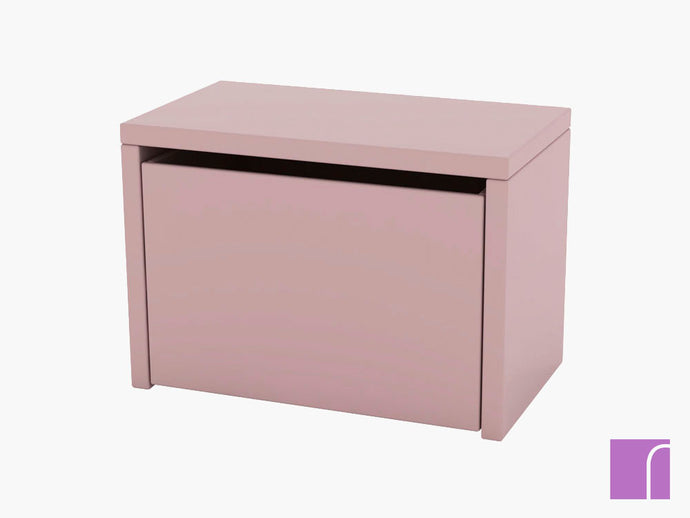 Pink Bedside Table
