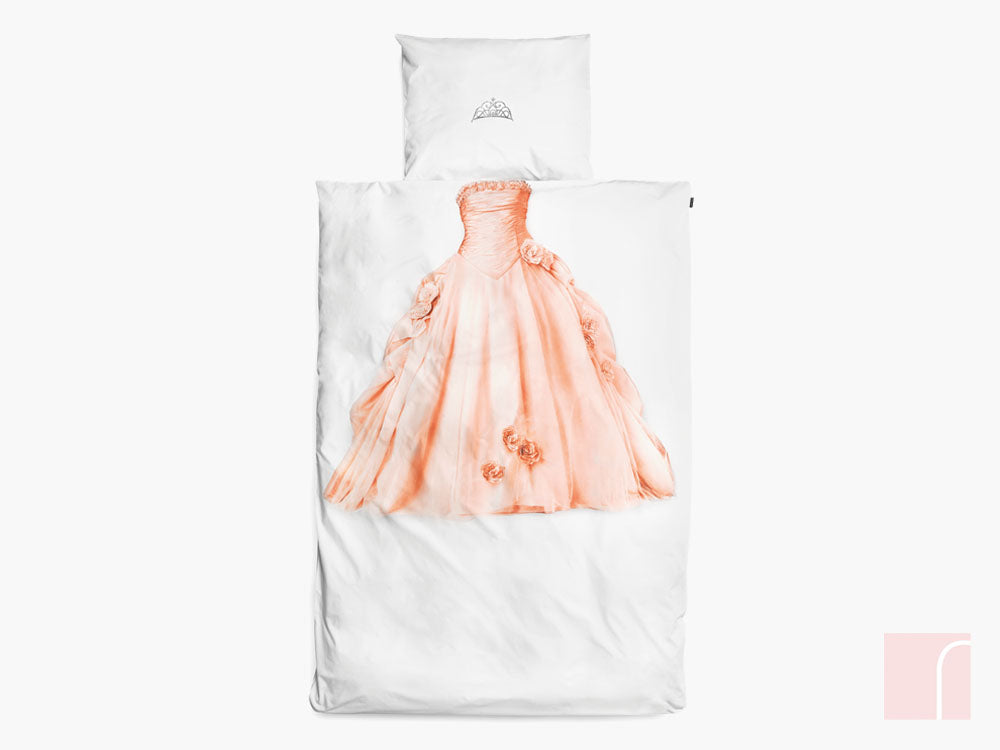 Pink princess bedding set