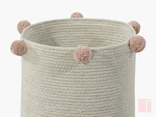 Pink and Neutral Storage Basket Lorena Canals