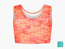 Orange mermaid top