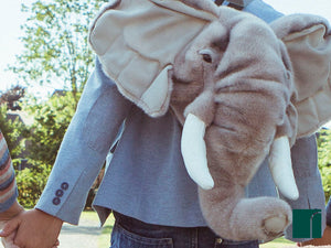 Plush Elephant Back Pack