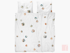 pom pom double bedding set