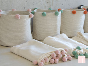 Pom Pom Storage Baskets