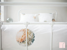 pompom bedding set