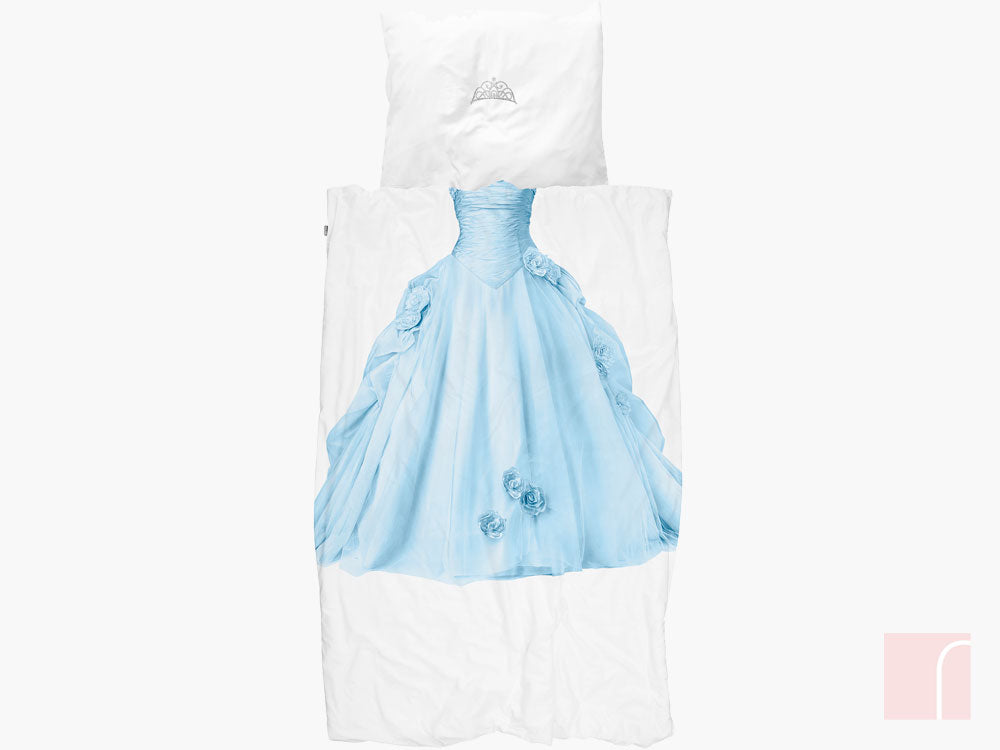 Blue Princess Bedding Set