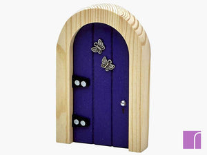 Purple Fairy Door