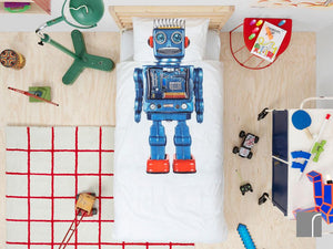 Robot Bedding Set