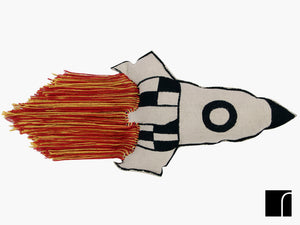 Rocket Cushion by Lorena Canals