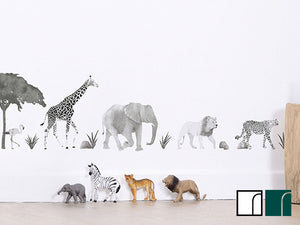 Safari-Animals-Wall-Stickers