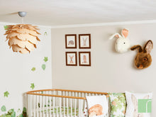 Woodland Creature Nursery Framed Prints