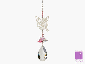 Sitting Fairy Suncatcher