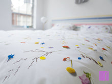 Snurk Flower Field Duvet Set