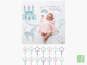 Something Magical Baby Milestone Gift Set