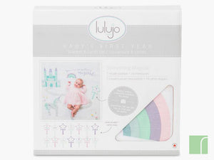 Unicorn baby milestone set