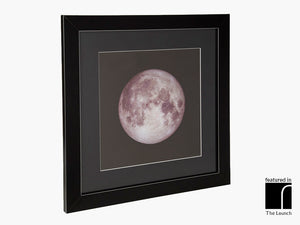 Supermoon Framed Print
