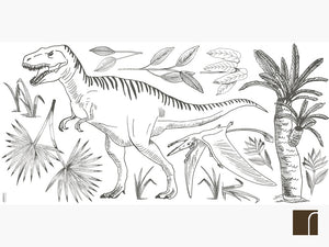 T Rex wall stickers