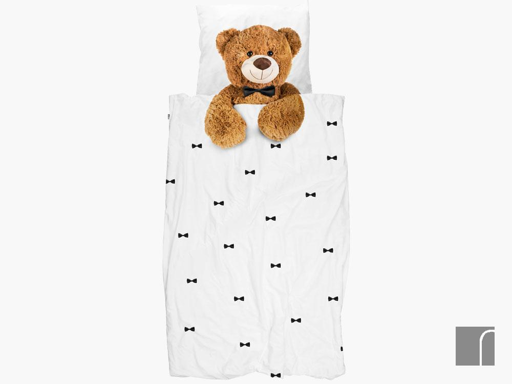 Teddy-Bedding-Set-Single Snurk