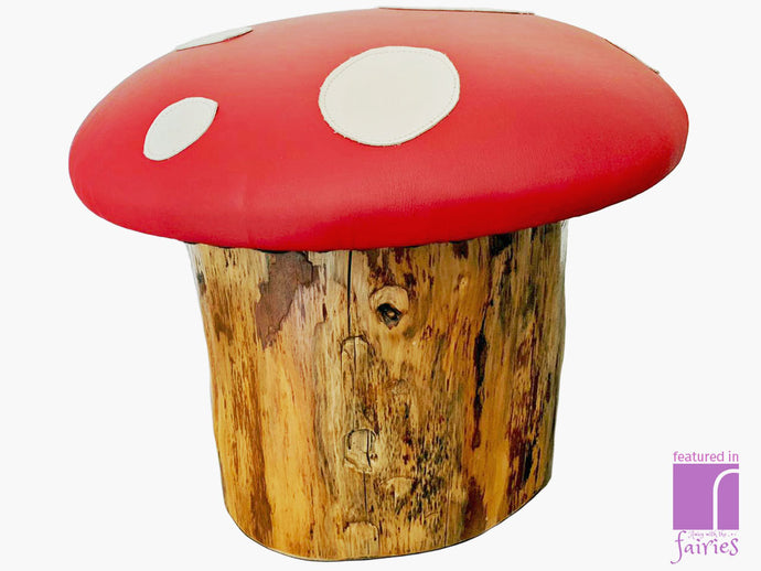 Toadstool Stool