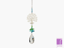 Tree Of Life Crystal Fantasy Suncatcher