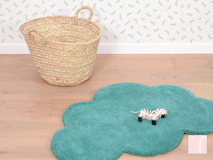Turquoise Cloud Rug