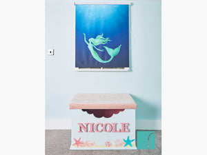 Personalised Mermaid Toy Box