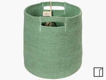 Washable Green Leaf Basket Lorena Canals