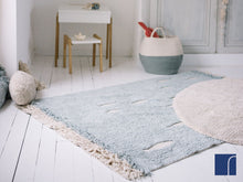 Washable Lorena Canals Fish Rug