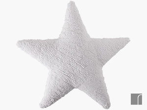 White-Star-Cushion