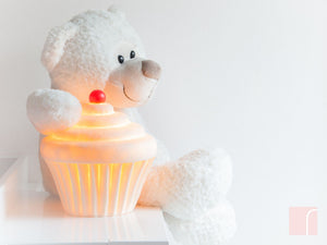 White Cup cake Lamp