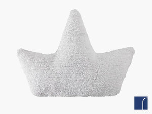White Boat Cushion