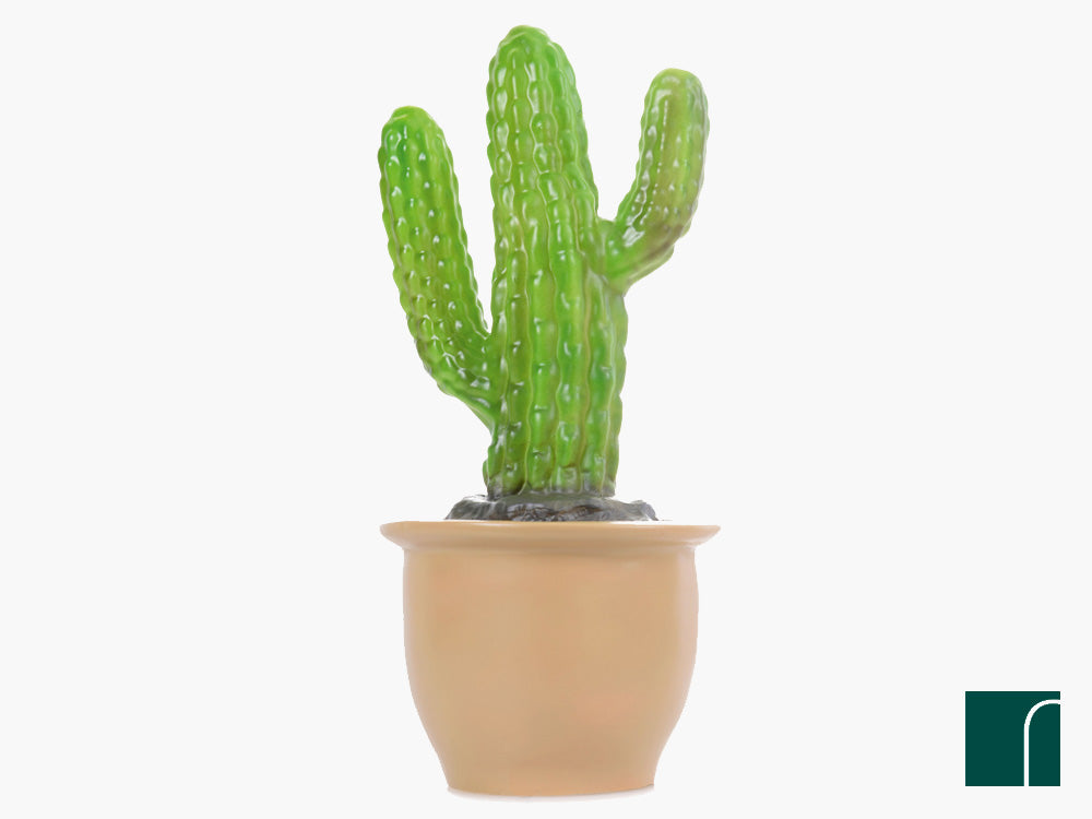heico finger cactus lamp in flower pot