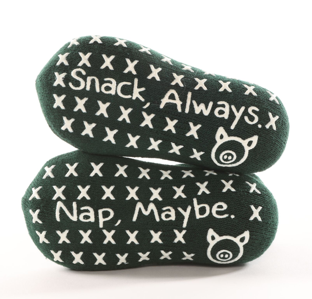 Snack, Always. Nap, Maybe. Hunter Tot