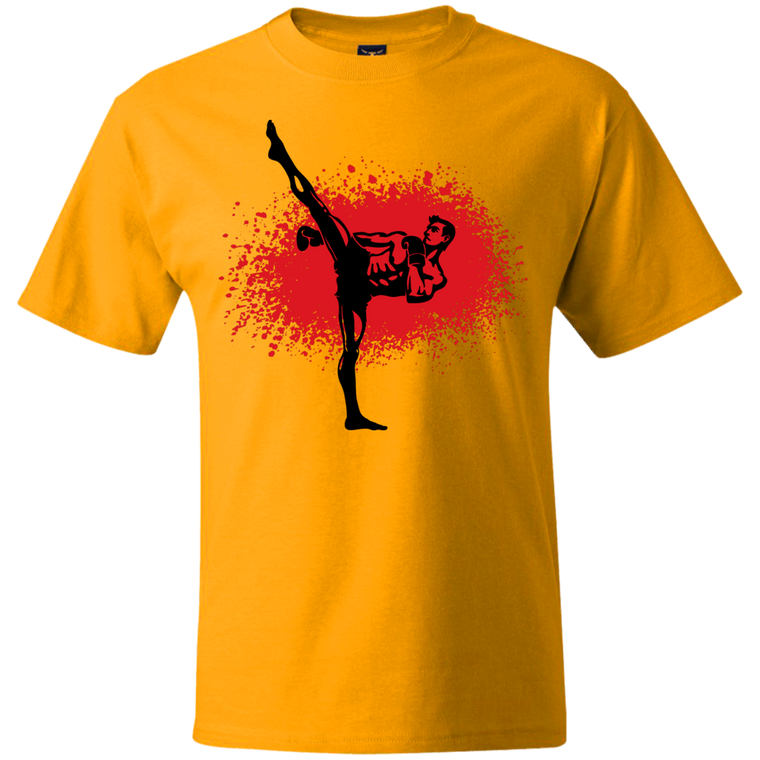 Kickboxer T-Shirt - Martial Arts, Brazilian Jiujitsu, Karate, Muay Thai Shirts
