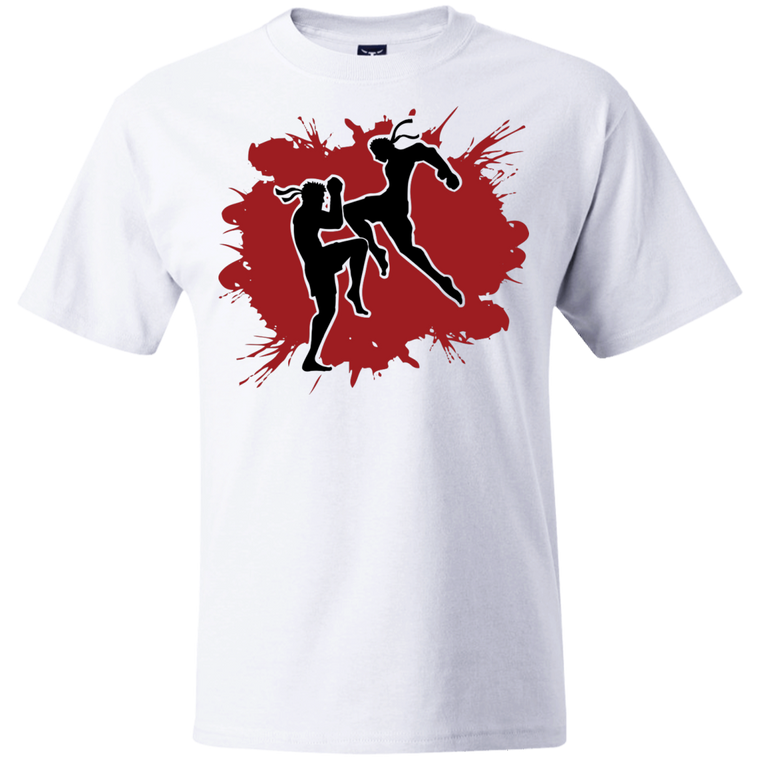 Muay Thai Flying Knee T-Shirt - Martial Arts, Brazilian Jiujitsu, Karate, Muay Thai Shirts