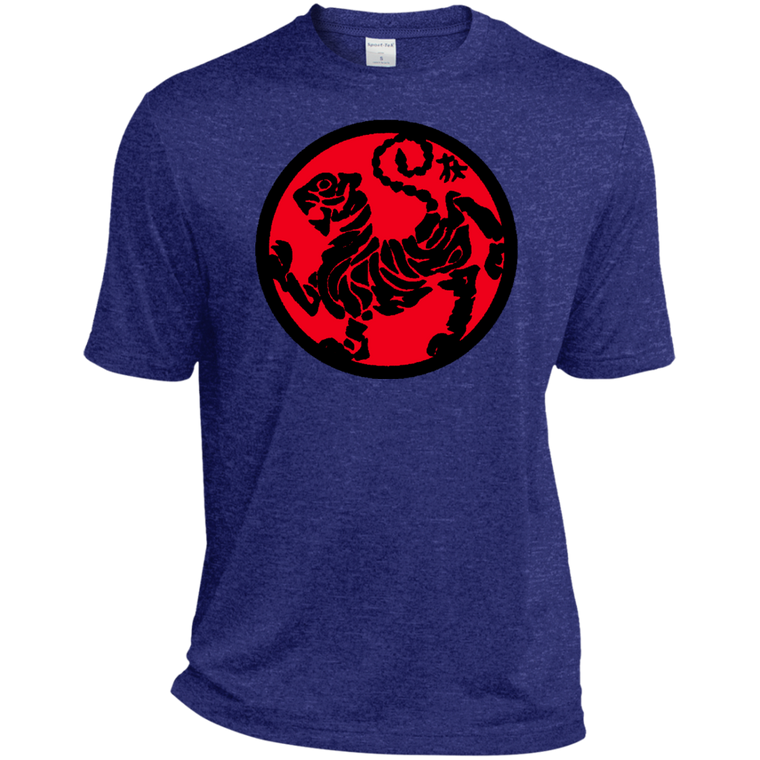 Shotokan Tiger Red Moisture Wicking Tee - Martial Arts, Brazilian Jiujitsu, Karate, Muay Thai Shirts