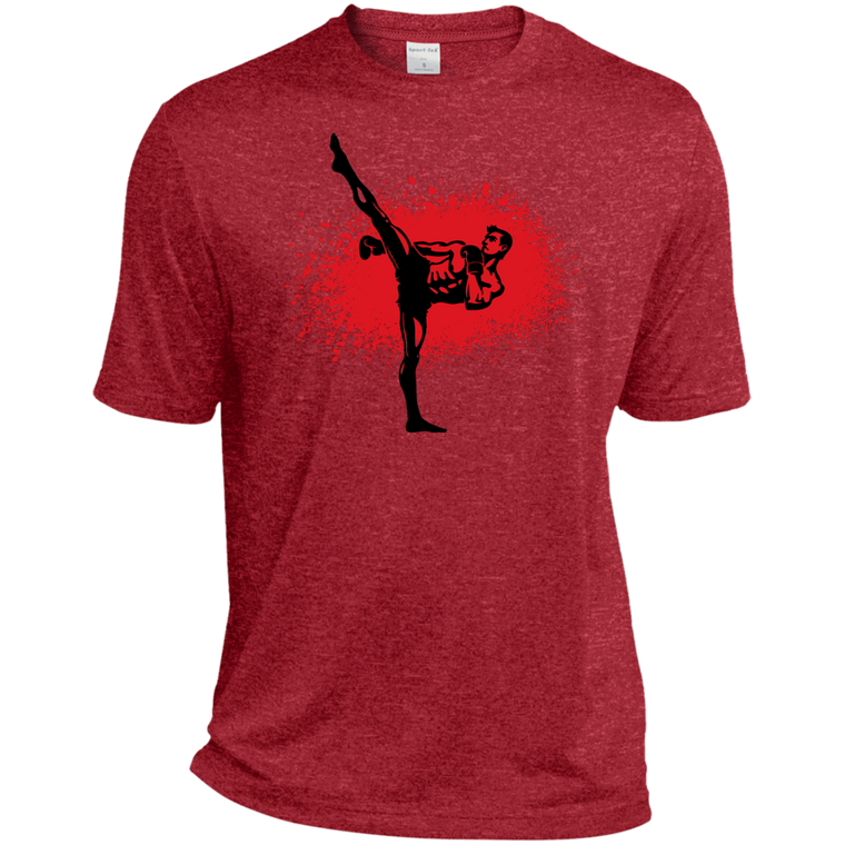 Kickboxer Moisture Wicking Tee - Martial Arts, Brazilian Jiujitsu, Karate, Muay Thai Shirts
