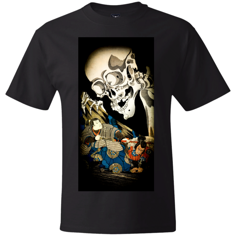 Skeleton Spectre T-Shirt - Martial Arts, Brazilian Jiujitsu, Karate, Muay Thai Shirts