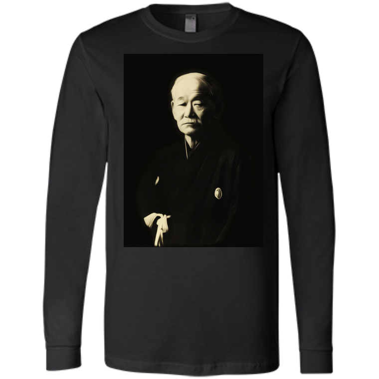 Kano Jigoro Long Sleeve - Martial Arts, Brazilian Jiujitsu, Karate, Muay Thai Shirts
